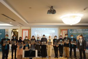 Awarding for participants of Istanbul Youth Summit 2021